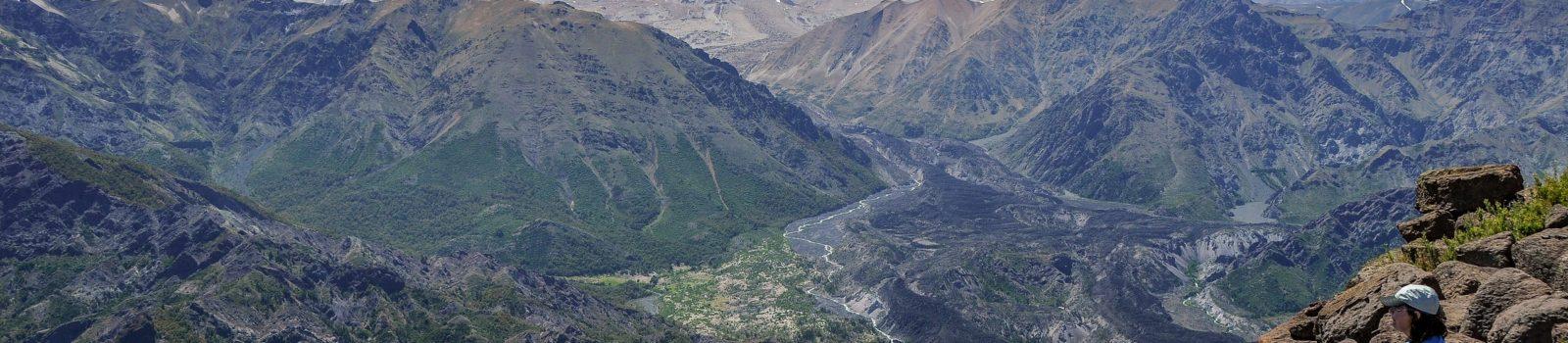 """Wanderung zum """"Ufo-Landeplatz"""" Enladrillado in den Altos de Lircay, Chile"""