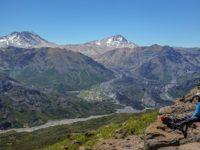Wanderung zum Ufo-Landeplatz Enladrillado in den Altos de Lircay, Chile