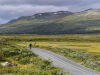 Radtour entlang des Mjolkevegen, Norwegen