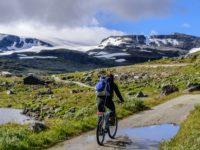 Radtour entlang des Rallarvergen, Norwegen