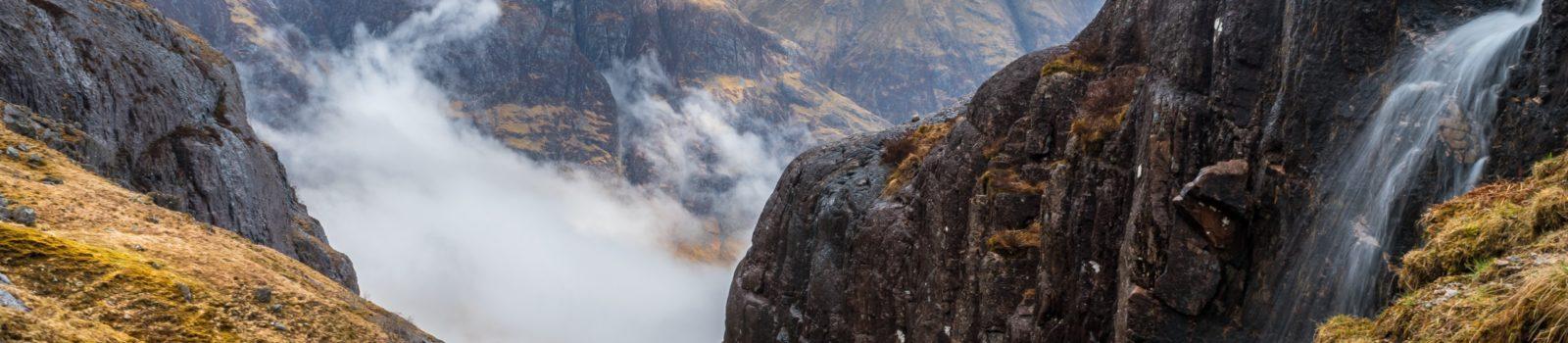 Bergwanderung auf den Stob Coire nan Lochan, 1150 m, Schottland