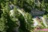 Aosta, Aostatal, Berge, Bike, Italien, Sommer, Strasse, Wald, forest, italy, lärche, mountains, street, summer