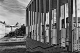 Blick zum Schloss von der James-Simon-Galerie