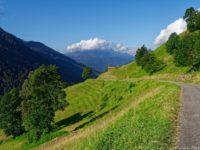 Anfahrtsweg zum Col du Joly