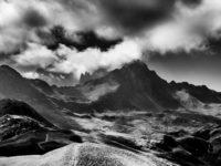 Rochers des Enclaves vom Col du Joly