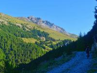 Auffahrt zum Col de Peas