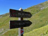 Startpunkt der Wanderung zum Col de Peas