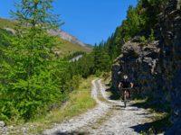 Abfahrt vom Col de Peas