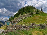 Berghütte am Lago Lago di San Bernolfo