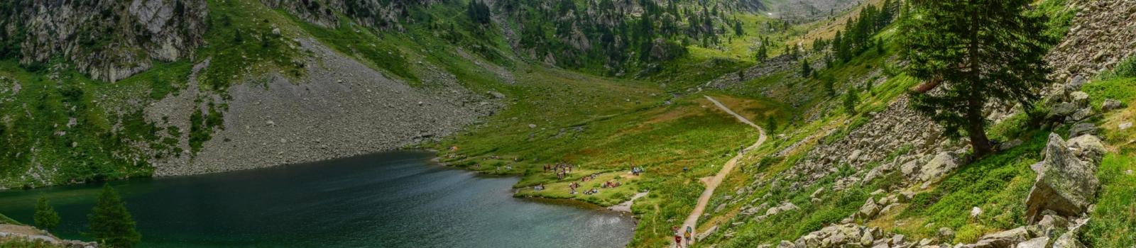 Bike-Hike-Tour Lago Lansfero, im Stura-Tal, Piemont