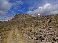 Observatorium unterhalb des Gipfels
