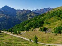 Abschnitt von Sestriere zum Col Basset