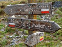 Wegweiser zum Col de Mallemort