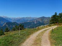 Unterhalb Monte Cornet mit Blick nach Westen