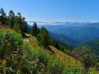 Auffahrt aus dem Maira-Tal zum Colle Birrone