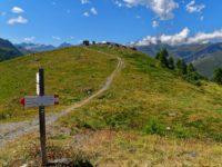 Endpunkt der Tour am Colle Bicocca