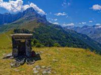 Tourenbericht - Mountainbike Bike-Tour Varaita-Maira-Kammstraße, Piemont