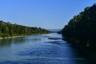 Berge, Chiemgau, Fluss, Radweg, Ufer, Wald, forest, mountains, river, salzach, shore