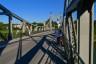 Brücke, Chiemgau, Laufen, Radweg, Strasse, bridge, stahl, street