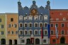 Chiemgau, Haus, bunt, burghausen, colorful, house