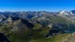 Gipfelblick zurück auf den Startpunkt
