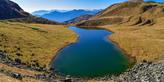 Lago Dimon unterhalb der Monte Paularo