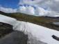 Altschneefelder am Rallarvegen