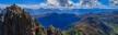 Gipfelpanorama vom Großen Rettenstein nach Süden