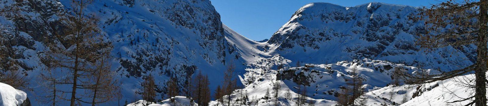 Skitour auf den Schneibstein in den Berchtesgadener Alpen