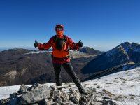 Der Autor auf dem Gipfel der Serra del Prete